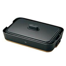 "ZOJIRUSHI Electric Hot Plate""STAN."" (BLACK) EA-FA10BA Japan Domestic"