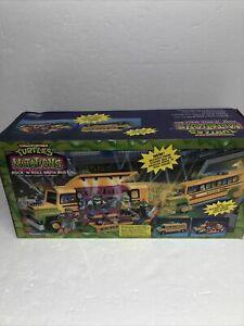Teenage Mutant Ninja Turtles TMNT Mutations Rock 'N Roll MUTA-BUS  CIB 1989