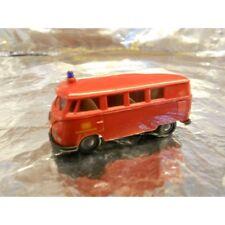 ** Brekina 32504 VW Minibus Red DB 1:87 HO Scale