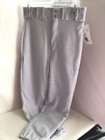 Bike Adult Baseball/softball Pants Light Grey 4106  NEW