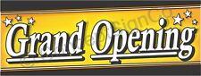 1.5'x4' Grand Opening Banner Outdoor Indoor Sign Sale Now Opens Soon Coming Star