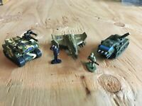Micro Machines 1996-1997 #8 Gamma Force Complete w/Infantry Freedom Force loose