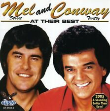 Conway Twitty, Mel George - At Their Best [New CD]