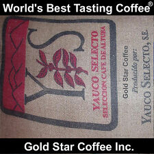 World's Best Coffee -10 lb. PUERTO RICO YAUCO SELECTO AA - City Roasted