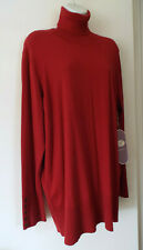 NEW***DIANE GILMAN Sz 2X knit Tneck SWEATER burgundy!!