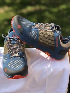 Vasque Womens Breeze LT Low GTX Goretex Vibram Hiking Shoes sz 9.5
