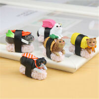 Cute Sushi Neko Cat Club Capsule Meow Mini Figure Kitty Collection Gift JG