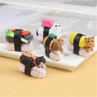 Cute Sushi Neko Cat Club Capsule Meow Mini Figure Kitty Collection Gift ^P