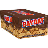 PayDay Chocolate Candy Bars 1.85 oz, 24 ct