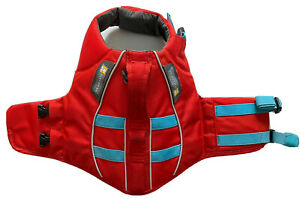 Ruffwear Float Coat, Red/Blue, Size XS