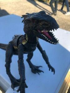 Jurassic World Grab N Growl Indoraptor Dinosaur Figure light & sound tested