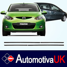 Mazda 2 5D Mk3 Rubbing Strips | Door Protectors | Side Protection Mouldings Kit