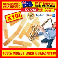 10pcs Saxophone Reeds Alto Sax Reed Sax Bamboo Reeds