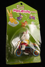 Vintage Tin Toy Rabbit Bunny Tricycle Made In Japan Original Package