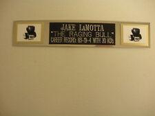 JAKE LAMOTTA (BOXING) NAMEPLATE FOR SIGNED GLOVES/TRUNKS/PHOTO DISPLAY