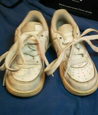 Nike Force 1 Toddler's White Tennis Shoes size 8C