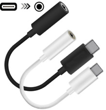 New Universal USB C to 3.5mm AUX Headphone Adapter Type C Jack  For Android