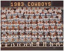 1983 DALLAS COWBOYS FOOTBALL TEAM 8X10 PHOTO PICTURE