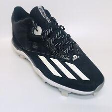 Adidas Dual Threat 2 Mens Baseball Cleats Size 13 F37751 - Black / White