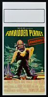 Plakat Forbidden Planet Die Planet Verboten Walter Pidgeon Wilcox Kino N44