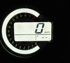 Kawasaki ZX6R ZX10R Z1000 / 750 Tacho Beleuchtung umbau weiß Led Set