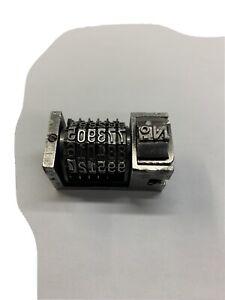 Letterpress Blue Boy Model 6 American Numbering  Machine