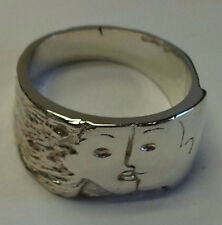 lovers sterling silver band