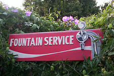 Fountain Service Sign- Can Be customized To say whatever you like!