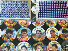 UNCUT SHEET OF QUEENSLAND ISSUE 1994 RUGBY LEAGUE COCA COLA POGS / TAZOS