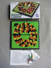 Vintage Game SNAKES & LADDERS POCKET MAGNETIC HONG KONG