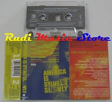 MC AMERICA DYING SLOWLY COOLIO DOMINO MAC MALL SADAT X  no cd lp dvd vhs