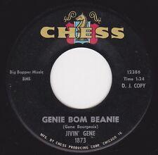 """JIVIN' GENE - """"GENIE BOM BEANIE"""" b/w """"CRYIN' TOWEL""""  on CHESS   (VG++)"""