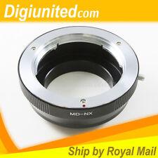 Minolta MD mount lens to Samsung NX mount camera adapter NX10 NX11 NX100 NX110