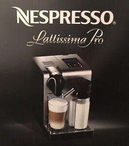 Nespresso Lattissima Pro DeLonghi EN750MB aluminium silber + TOP + Händler