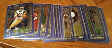 2000 TOPPS CHROME FOOTBALL COMPLETE PREVIEW SET - 20 CARDS -  NEAR MINT TO MINT