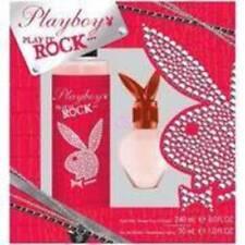 NEW Womens Playboy Play It Rock EDT 1 oz Perfume & Body Mist Fragrance Gift Set
