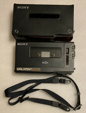Sony Walkman Professional WM-D6C Stereo Cassette-Corder Used Great Condition