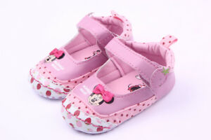 Pretty Baby Girls ~ Minnie Mouse ~ Pink  Disney Summer Mary Jane Shoes