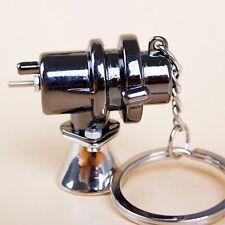 Turbo Charger Lanyard Blow Off Valve Black Hot Key Chain BOV Key Ring Key Fob
