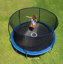 Trampoline For Kids 14 Ft Mat Enclosed Backyard Large Round Best Safety Pad
