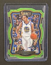 2017-18 Select Warriors Shaun Livingston Premier Level Die Cut Prizm #126  04/65
