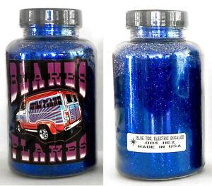 Blakes Metal Flake .004 Blue Too Electric Boogaloo (canadian) Dark Blue Lowrider