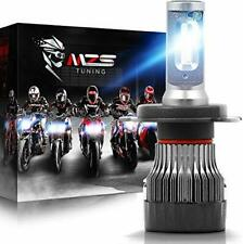 MZS Motorcycle H4 9003 LED Headlight Bulb Single Compatible Motorbike,HB2 Mini