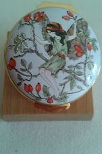Royal Doulton Cicely Mary Barker Fairy Pill Pot. Limited Edition