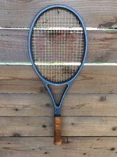 Vintage Wilson Silver Streak Graphite Midsize Tennis Racket 4 5/8