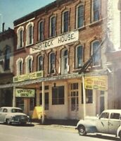 Virginia City Nevada Comstock House Hotel Vintage 50s Street View Posted
