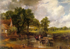 John Constable The Hay Wain. 1821. Fine Art on Real Canvas. For Re-Sale From UK