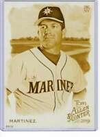 Edgar Martinez 2019 Allen and Ginter 5x7 Gold #58 /10 Mariners