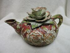 Cloisonne Pitcher Rose Top