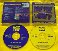 The Millennium Series NOW 1997 THAT'S WHAT I CALL MUSIC - 2 CD - Various Artists